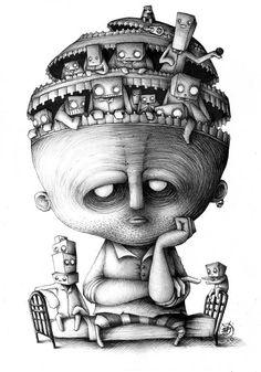 Paride Bertolin Illustratore - WaitingFor