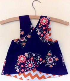 Girls Pinafore Dress | Bonsai Hewes | Free Pattern