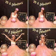 Trendy birthday photoshoot ideas for women cake 27 Birthday Ideas, Birthday Surprises For Her, 25th Birthday Cakes, 25th Birthday Parties, Birthday Cake Smash, Adult Birthday Party, Birthday Woman, Birthday Photos, Birthday Crafts
