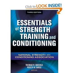 Now in its third edition, Essentials of Strength Coaching and Conditioning is probably the most comprehensive reference out there for power and conditioning professionals. In this text, 30 knowledgeable contributors discover the scientific ideas, ideas, and theories of power coaching and conditioning in addition to their functions to athletic performance.    Necessities of Strength Training and Conditioning is the most-most well-liked preparation text for the Certified Energy