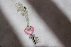 A personal favorite from my Etsy shop https://www.etsy.com/listing/128577271/pink-rhinestone-key