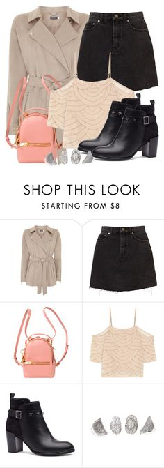 """""""Rebekah Inspired Outfit"""" by fangsandfashion ❤ liked on Polyvore featuring Sophie Hulme, W118 by Walter Baker and Tommy Hilfiger"""