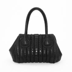 Borsa in vero pitone da Salamastra - Authentic python bag by Salamastra 6cb933097fa23