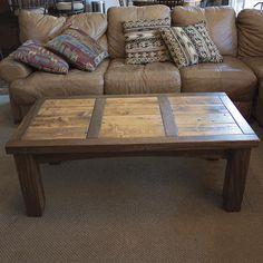 Colorado Rustic Walnut & Barnwood Coffee Table Cabin Furniture, Reclaimed Wood Furniture, Reclaimed Barn Wood, Recycled Furniture, Rustic Furniture, Recycled Wood, Furniture Ideas, Barnwood Coffee Table, Walnut Coffee Table
