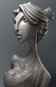Aphrodite , Itay Schlesinger on ArtStation at…