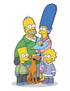 Everyone's Favorite Cartoon Family in Winter Garb