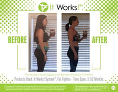 Check out these awesome results! I want to help you with your health and wellness goals. It works! Contact me Sylvia Escontrias Itworksdiva@yahoo.com Double Diamond Leader Https://slimthang.itworkseu.com (Select country)