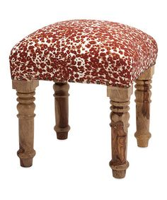 Look at this #zulilyfind! Gordy Upholstered Ottoman by IMAX #zulilyfinds