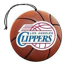 Los Angeles Clippers Air Freshener 3 Pack Nu-Car Scent