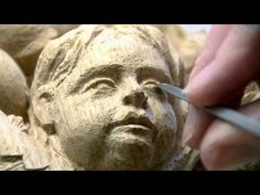 "WOODCARVING : Patrick Damiaens , At the "" Museum aan het vrijthof ""   Sp..."