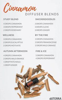 Essential Oil Diffuser Blends, Essential Oil Uses, Doterra Essential Oils, Doterra Diffuser, Doterra Blends, Mixing Essential Oils, Clove Essential Oil, Essential Oils Guide, Cinnamon Bark Essential Oil