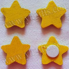 1000PCS/LOT.YELLOW star stickers,18mm.Kids toys,scrapbooking kit,Early educational DIY.Kindergarten crafts.Classic toys.