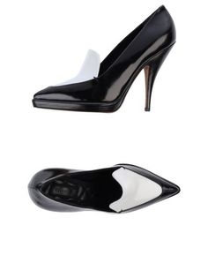 Celine Moccasin black and white pump | reg $550, sale $161 (+ 15 % off with LASTCALL15)