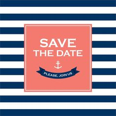 Seaside Save the Date Seaside Wedding, Wedding Pictures, Save The Date, Dating, Theme Ideas, Nautical, Navy Marine, Quotes, Wedding Ceremony Pictures