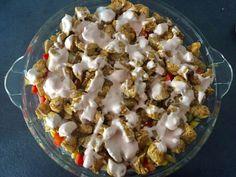Zapiekanka gyros - Blog z apetytem Oatmeal, Breakfast, Blog, The Oatmeal, Morning Coffee, Rolled Oats, Blogging, Overnight Oatmeal