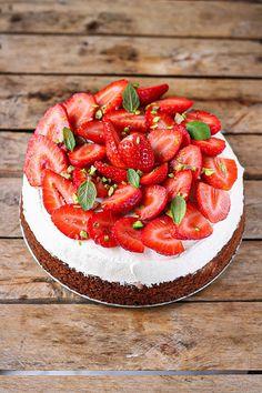 gâteau fraises