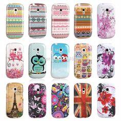 Exklusive design tupfen sleeping owl tpu silicon phone case etui für samsung galaxy s3 mini rückseite haut s 3 mini i8190