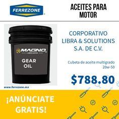 #AceitesParaMotor #AceiteMultigrado http://www.ferrezone.mx  El mercado ferretero de México Anúnciate gratis