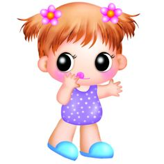 Image result for cartoon pictures of baby girls