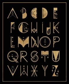 """Enchanted typography! Looks like """"magic words"""" in Harry Potter."""