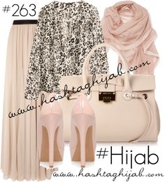 Hashtag Hijab Outfit that is amazing and so classy , i definetly want a nude shoes and bag