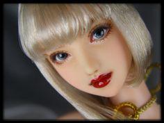 "★ = daughter = custom head (Obitsu 01) ""Sunahime"" ★"
