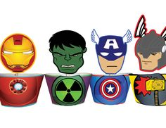 Planning a special Avengers superhero themed party? Our Avengers cupcake toppers & wrappers set will impress all your little guests! * Listing includes a surprise character that is not shown in the image WHAT YOU GET This listing is for4 PDF files with: *5 Topper & Wrapper Designs INSTANT DOWNLOAD Immediately after purchase an email [...]