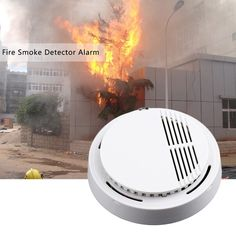 Cheap sensor camera, Buy Quality sensor security directly from China monitor extender Suppliers: 1 Pc Fire Smoke Sensor Detector Alarm Tester Home Security System for Family Guard Office building Restaurant Home Security Alarm, Home Security Tips, Wireless Home Security, Safety And Security, Home Security Systems, Anti Mites, Gas Detector, Photoelectric Sensor, La Pile