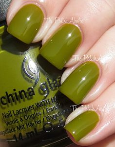 China Glaze Spring 2013 Avant Garden Collection Swatches - Budding Romance