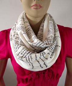Word scarf