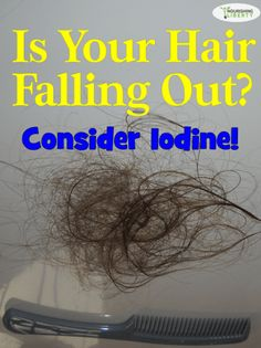 After IAD (I Almost Died, a phrase that comes in handy when I want something from my siblings), I watched my hair falling out in clumps in the shower. It was...