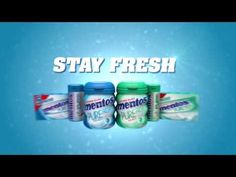 Mentos UK Stay Fresh TV ad (2013 Aug) #mint #fresh