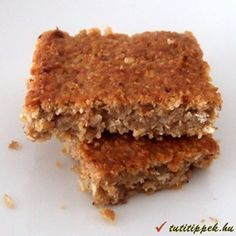 Zabpehely szelet Krispie Treats, Rice Krispies, Healthy Sweets, Oatmeal, Food And Drink, Ethnic Recipes, Rolled Oats, The Oatmeal, Clean Eating Sweets