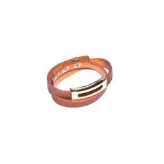 Pirinç Uçlu Çift Dolamalı Deri Bileklik Bracelets, Leather, Accessories, Jewelry, Fashion, Moda, Jewlery, Bijoux, Fashion Styles