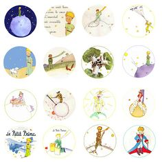 The Little Prince Le Petit Prince Free Bottle Cap Images by Folie du Jour