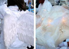 Diner en Blanc wings hat