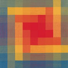 Ethel Stein. Red, Yellow, Blue, Green, Orange III, 1995. The Art Institute of Chicago. Gift of Ethel Stein. © Ethel Stein.