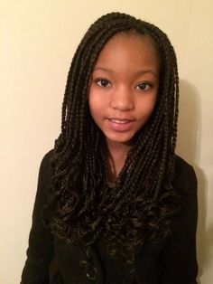 Top 60 All the Rage Looks with Long Box Braids - Hairstyles Trends Box Braids Hairstyles, Crochet Braids Hairstyles For Kids, Crochet Braids For Kids, Natural Hairstyles For Kids, Kids Braided Hairstyles, My Hairstyle, Little Girl Hairstyles, Crochet Hair Styles, Natural Hair Styles