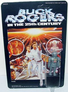 1979 Twiki (Buck Rogers In The 25th Century) action figure by Mego.
