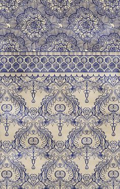 Vintage Wallpaper - such a gorgeous pattern