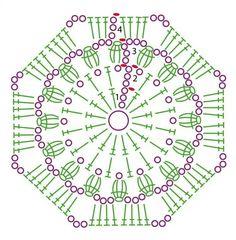 Granny, hexagon, squares... … Más