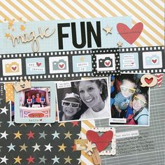 Magic Fun - Scrapbook & Cards Today with Simple Stories