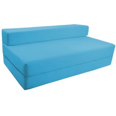 fold out foam double guest z bed chair folding mattress sofa bed futon sofabed - Fold Out Sleeper Chair