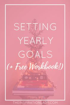 It's almost time for the new year! Although you don't need a new year as an excuse to set yourself new goals, here are some tips for setting yearly goals!