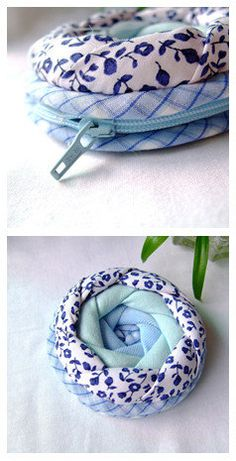 Rose Coin Purse - PDF Pattern (Sew and Sell!) by LY Patterns