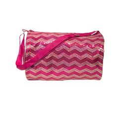 Girls Duffle Bag Chevron Sequin Choose Color >>> Read more reviews of the product by visiting the link on the image. (This is an Amazon Affiliate link and I receive a commission for the sales)