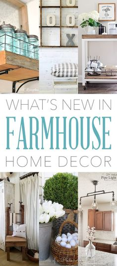 You are probably saying it is about time there is a new What's New in Farmhouse Home Decor. So sorry for not having a post up sooner but life took a little detour and I wound up in the hospital for a week and I am now playing a bit of catch-up ball : ) …