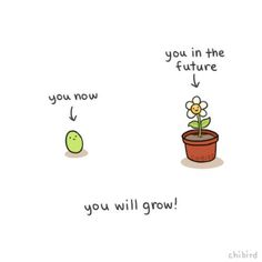 """""""Our job is to nourish the growth with patience, motivation, differentiation, encouragement, and love. Positive Vibes, Positive Quotes, Motivational Quotes, Inspirational Quotes, Strong Quotes, The Words, Chibird, Worst Day, Happy Thoughts"""