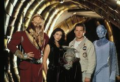 Farscape     Ben Browder, Claudia Black, Viginia Hey, Anthony Simcoe, Jonathan Hardy