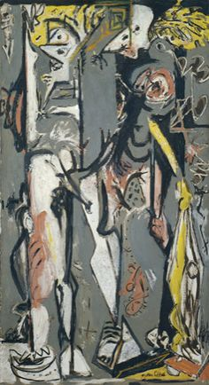 Collection Online | Jackson Pollock. Two. 1943–45 - Guggenheim Museum